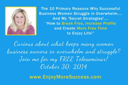 Free Teleseminar for Women Entrepreneurs
